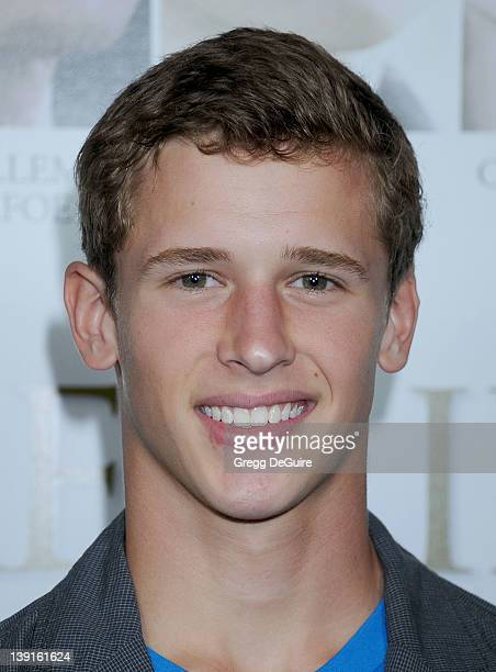 Cayden Boyd arrives at the Los Angeles Premiere of 'Fireflies In The Garden' at the Pacific Theatre at The Grove on October 12 2011 in Los Angeles...