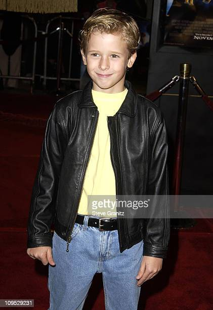 Cayden Boyd during 'Harry Potter and the Chamber of Secrets' Premiere Los Angeles Arrivals at Mann Village Theatre in Westwood California United...