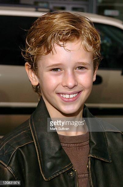 Cayden Boyd during 'Racing Stripes' Los Angeles Premiere Arrivals at Grauman's Chinese Theatre in Hollywood California United States