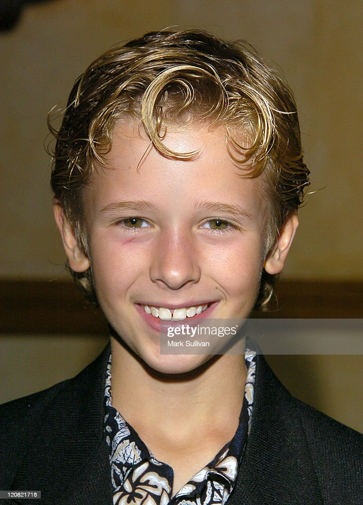 Cayden Boyd During Young Artist Awards Arrivals At The Sportsmens