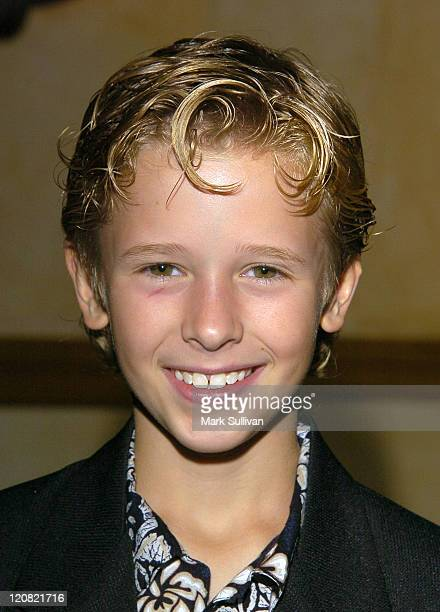 Cayden Boyd during Young Artist AwardsArrivals at The Sportsmen's Lodge in Studio City California United States
