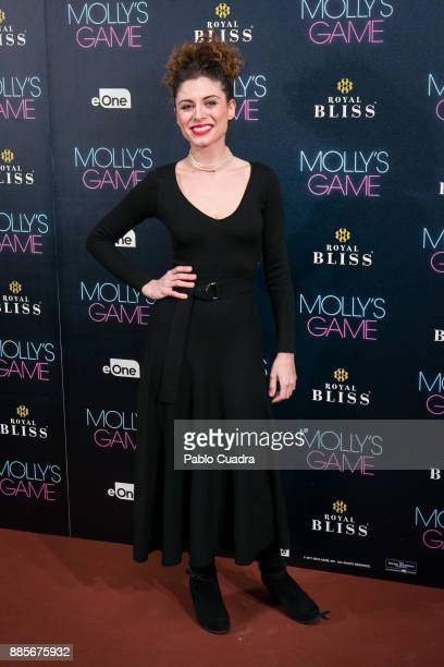 Cayetana Cabezas attends 'Molly's Game' Madrid premiere at Capitol Cinema on December 4 2017 in Madrid Spain