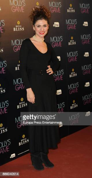 Cayetana Cabezas attends 'Molly's Game' Madrid premiere on December 4 2017 in Madrid Spain