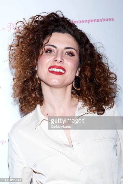 Cayetana Cabezas attends the concert of Nancys Rubias at the Barcelo Theater on April 09 2019 in Madrid Spain