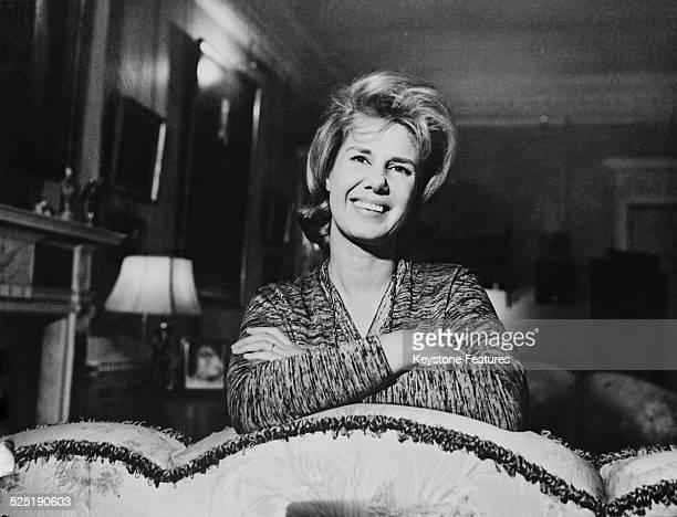 Cayetana FitzJames Stuart 18th Duchess of Alba at the Liria Palace Madrid 16th June 1961
