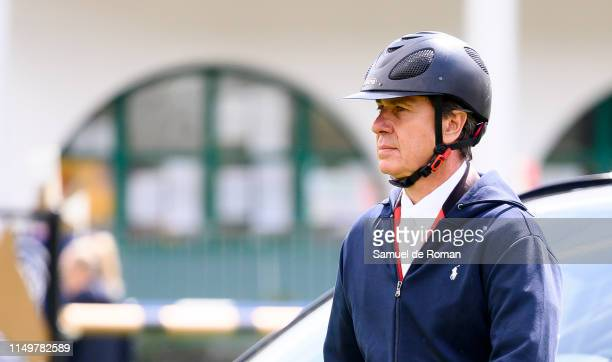 Cayetano Martine de Irujo during MadridLongines Champions the International Global Champions Tour at Club de Campo Villa de Madrid on May 17 2019 in...