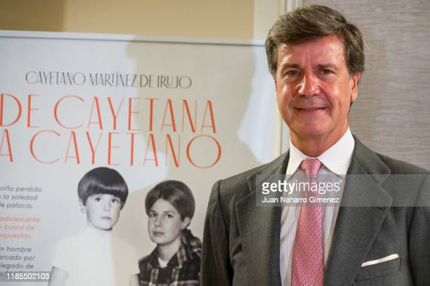 Cayetano Martinez de Irujo attends 'De Cayetana A Cayetano' book presentation at Intercontinental Hotel on November 04 2019 in Madrid Spain