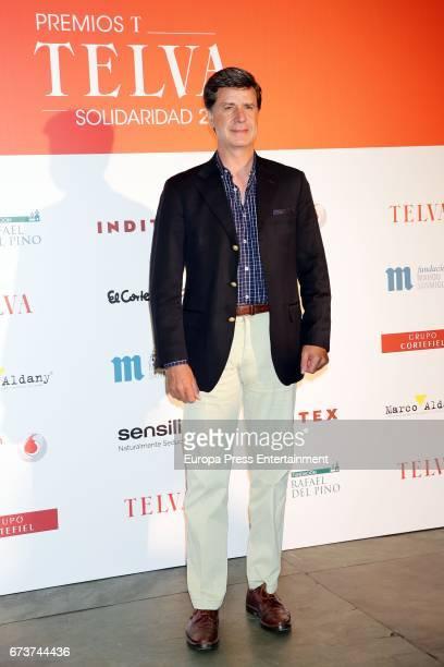 Cayetano Martinez de Irujo attends the 2017 TELVA Charity Awards at the Rafael del Pino Auditorium on April 26 2017 in Madrid Spain