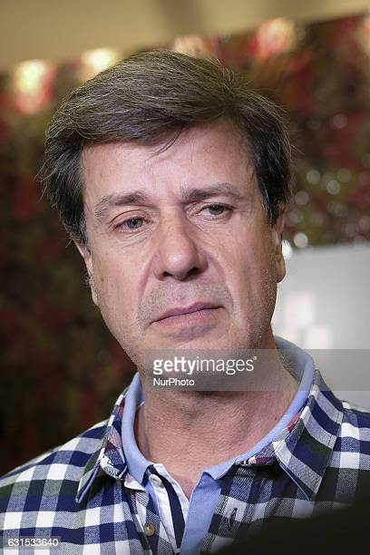 Cayetano Martinez de Irujo attends the 'Nacido En Siria' premiere at Palafox Cinema on January 11 2017 in Madrid Spain
