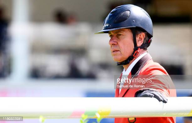 Cayetano Martinez de Irujo during MadridLongines Champions the International Global Champions Tour at Club de Campo Villa de Madrid on May 19 2019 in...