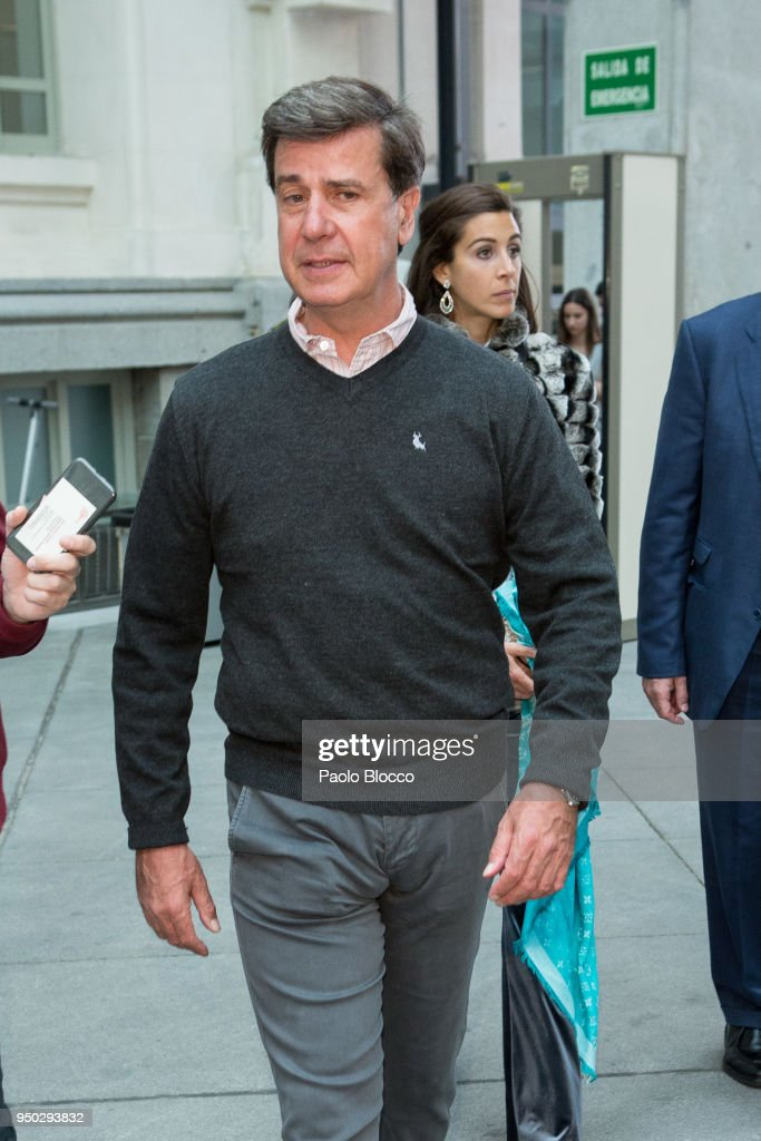 Celebrity Sightings in Madrid - April 23, 2018