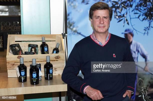 Cayetano Martinez de Irujo presents the new AOVE Reserva Familiar Olive Oil by 'Fine Food de Casa de Alba' gastronomic proyect at Gourmet Experience...