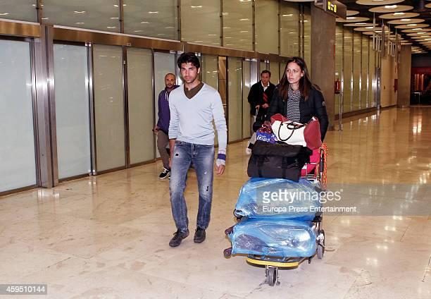 Cayetano Rivera and Eva Gonzalez are seen on November 21 2014 in Madrid Spain