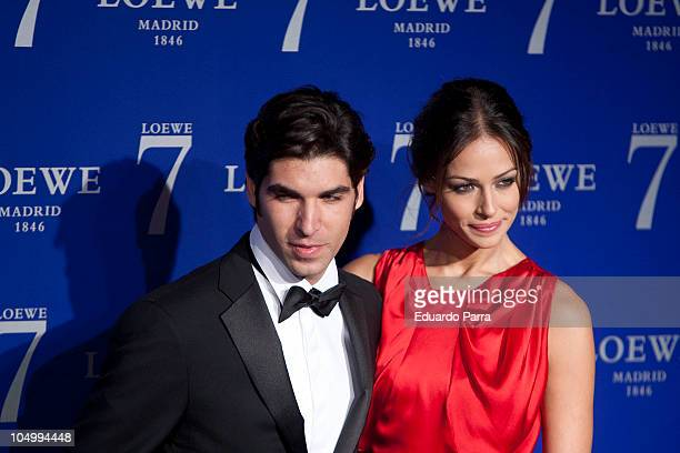 Cayetano Rivera and Eva Gonzalez attend a photocall for the new fragance by Loewe at City Hall on October 7 2010 in Madrid Spain