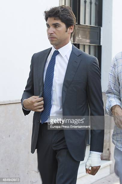 Cayetano Rivera attends Goyesca Bullfights on September 6 2014 in Ronda Spain The bullfight events linked to The Feria Goyesca stem from the...