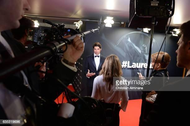 Cayetano Rivera attends the 2017 Laureus World Sports Awards at the Salle des EtoilesSporting Monte Carlo on February 14 2017 in Monaco Monaco