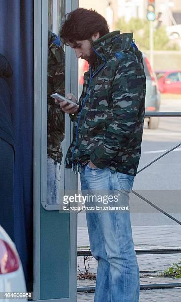 Cayetano Rivera is seen on January 13 2014 in Madrid Spain