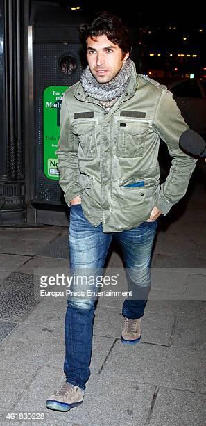 Cayetano Rivera is seen on January 19 2015 in Madrid Spain