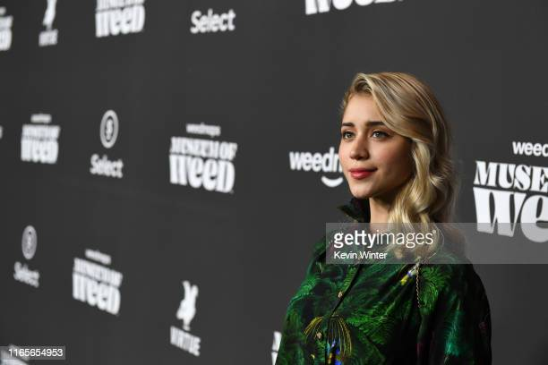 Caylee Cowan attends Weedmaps Museum Of Weed exclusive preview event on August 01 2019 in Los Angeles California