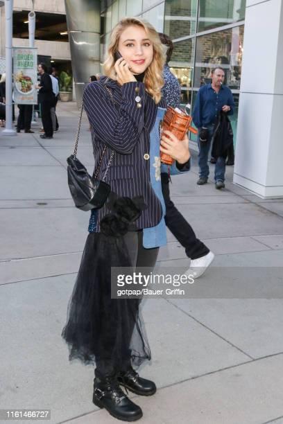 Caylee Cowan is seen on August 12 2019 in Los Angeles California