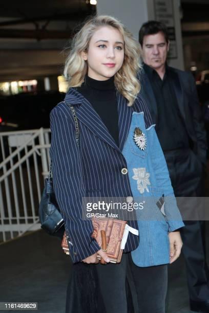 Caylee Cowan is seen on August 12 2019 in Los Angeles