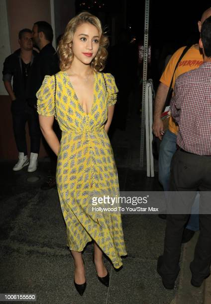 Caylee Cowan is seen on July 26 2018 in Los Angeles CA