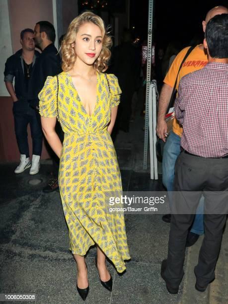 Caylee Cowan is seen on July 26 2018 in Los Angeles California