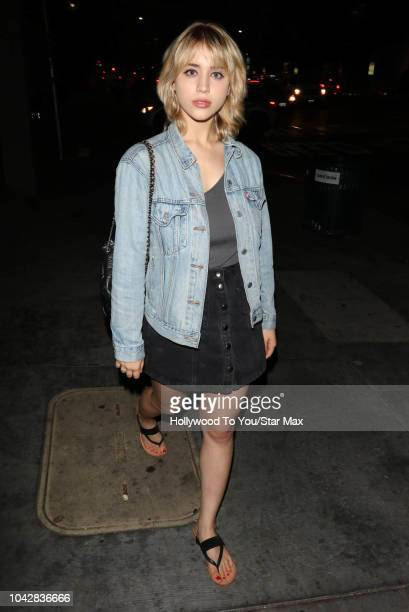 Caylee Cowan is seen on September 28 2018 in Los Angeles CA