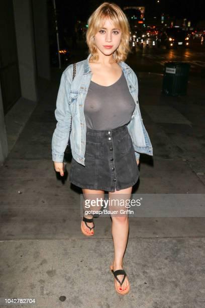 Caylee Cowan is seen on September 28 2018 in Los Angeles California