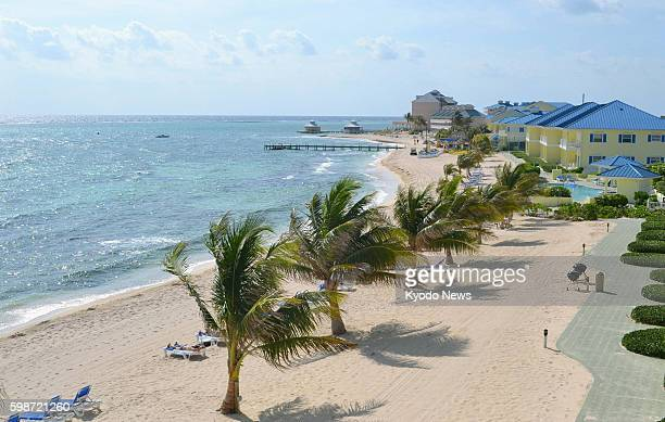 Cayman Islands Photo shows a resort area on the British Cayman Islands in April 2012 The Cayman Islands widely known as a tax haven drew 1536...