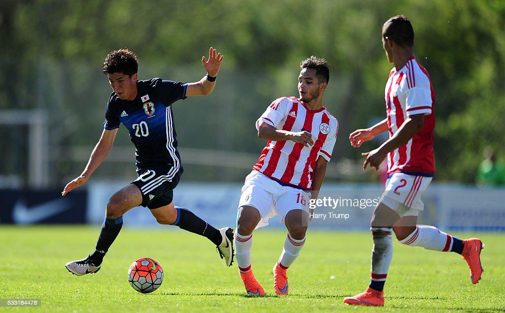 Japan v Paraguay - Toulon Tournament