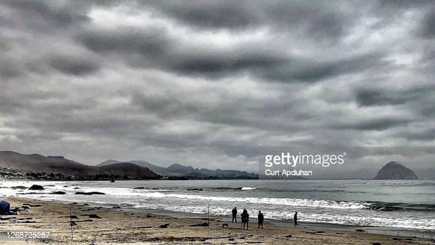 cayucos state beach 03 - cayucos stock pictures, royalty-free photos & images
