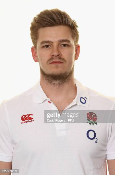 Caz Morgan the England performance analyst poses for a portrait at The Lensbury on August 5 2017 in Teddington England