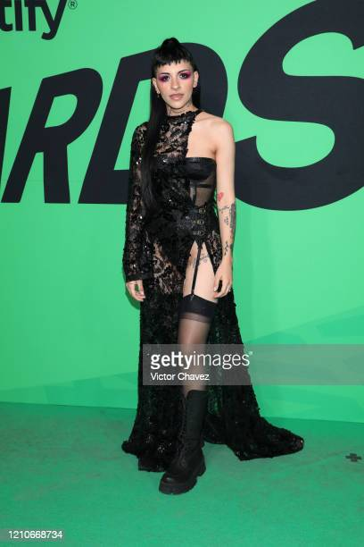 Cazzu attends the 2020 Spotify Awards at the Auditorio Nacional on March 05 2020 in Mexico City Mexico