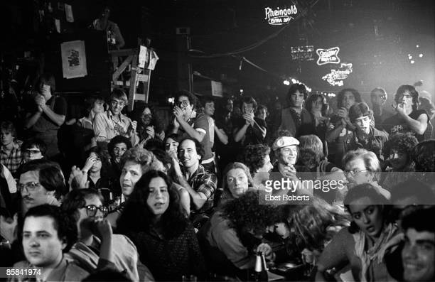 S Photo of CBGBs and CBGB's audience watching The Shirts at CBGBs club