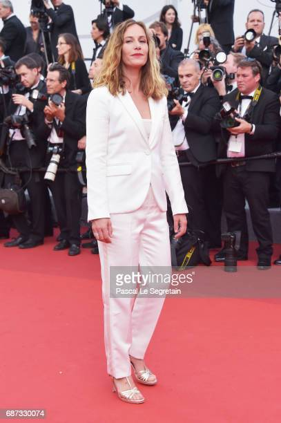 Cécile De France attends the 70th Anniversary of the 70th annual Cannes Film Festival at Palais des Festivals on May 23 2017 in Cannes France
