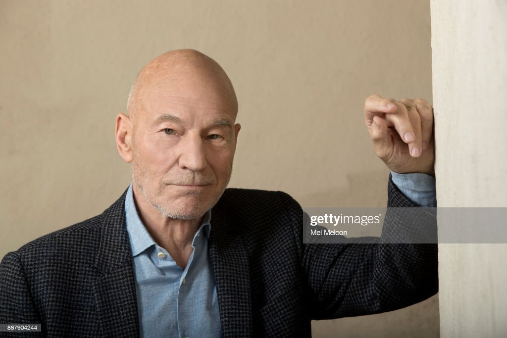 Cctor Patrick Stewart, of the movie, 'Logan,' is photographed at 20th Century Fox Studios for Los Angeles Times on November 2, 2017 in Los Angeles, California. PUBLISHED IMAGE.