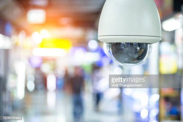 cctv security system concept - business security camera stock pictures, royalty-free photos & images