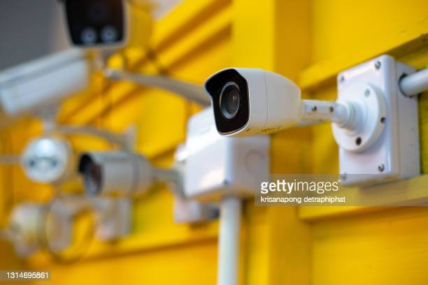 cctv,repair cctv concept,cctv,camera,ip camera - business security camera stock pictures, royalty-free photos & images