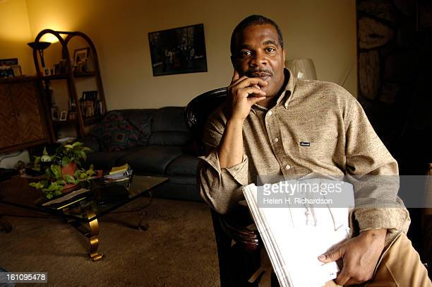 cd21WORKERSCOMPAURORA COLORADO Ronald Calvert <cq> is pictured at his mother's home in Aurora Since his long battle trying to get back surgery and...