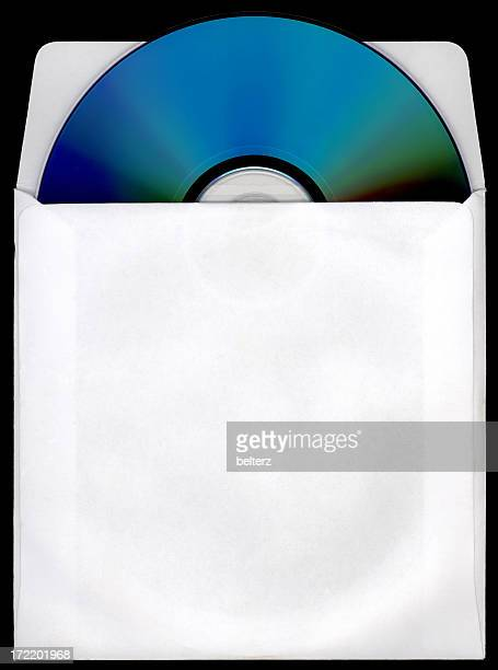 cd/dvd and paper sleeve