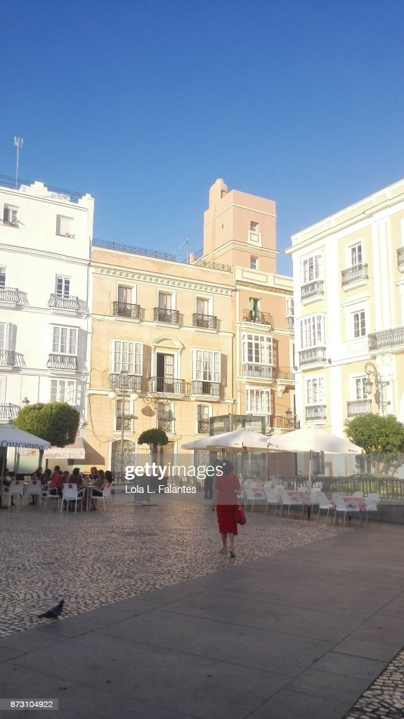 Cádiz cityscape. Street photo : Foto de stock
