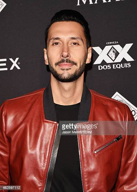 Cédric Gervais attends the Maxim Party with Johnnie Walker Timex Dodge Hugo Boss Dos Equis Buffalo Jeans Tabasco and popchips on January 31 2015 in...
