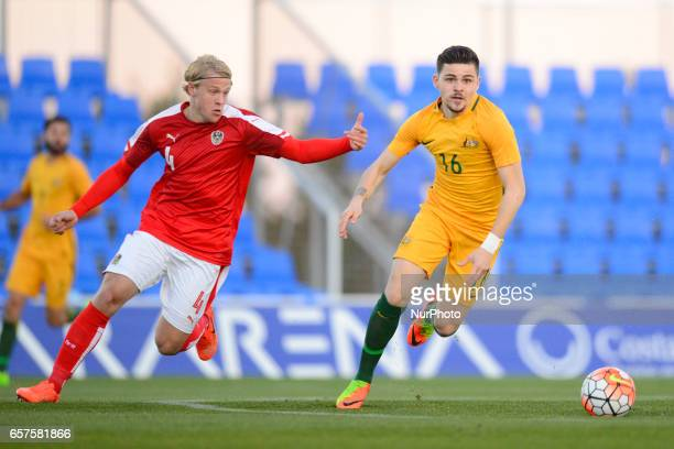 cduring the friendly match of national teams U21 of Austria vs Australia in Pinatar Arena Murcia SPAIN March 24rd 2017
