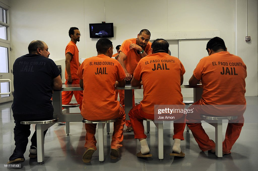 CDXXIMMIGRANTS10c Foreign born inmates at El Paso County