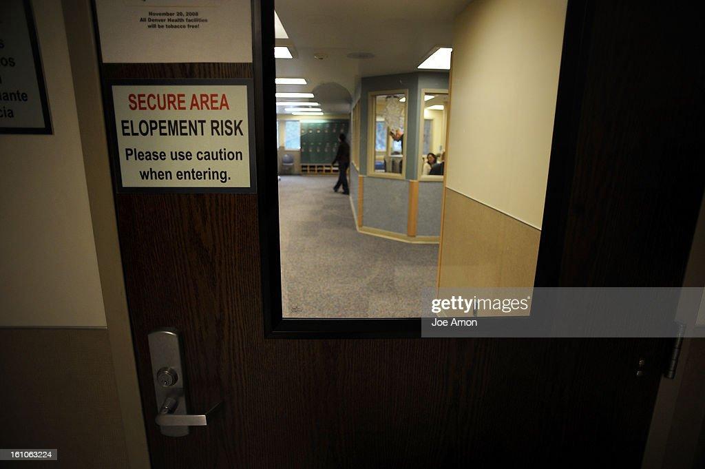 KL) cdxxpsych18b The entrance to the new Denver Health Psychiatric ...