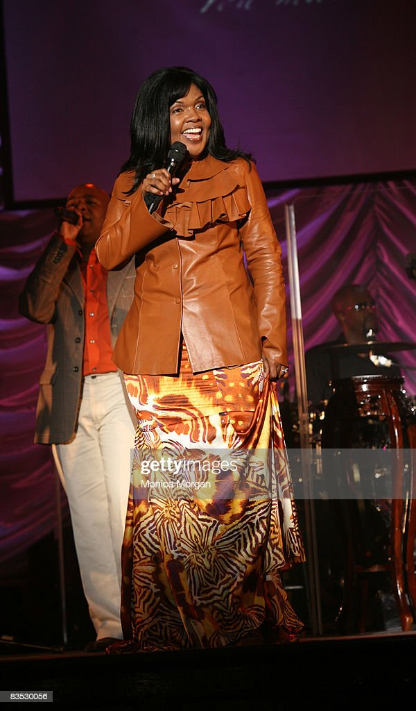 """CeCe Winans' """"The Kingdom"""" Tour in Detroit - October 31, 2008 : News Photo"""