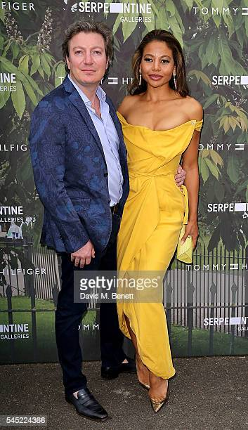 Ceawlin Thynn Viscount of Weymouth and Emma McQuiston Viscountess of Weymouth attend The Serpentine Summer Party CoHosted By Tommy Hilfiger at The...