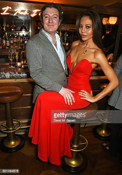 Ceawlin Thynn Viscount Weymouth and Emma McQuiston Viscountess Weymouth attend a private dinner hosted by Jeremy Morris and Lisa Tchenguiz to...