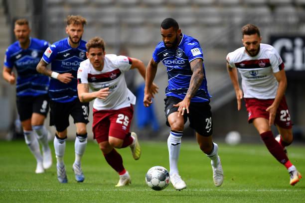 DEU: DSC Arminia Bielefeld v 1. FC Nürnberg - Second Bundesliga